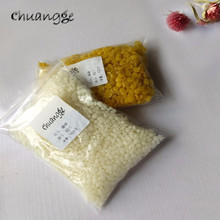 CHUANGGE 100g Pure Natural Beeswax Candles Making Supplies 100% No Added Soy Wax