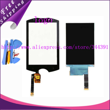 Original wt19 lcd For Sony Ericsson WT19 WT19a WT19i LCD Display Panel Screen Touch Screen Digitizer with Logo tools tracking