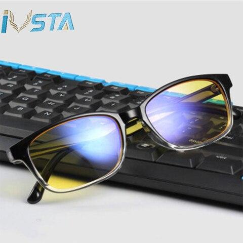 IVSTA Computer Glasses Blue Light Blocking Anti Blue Rays Gaming for Gamer Prescription Nerd Optical Night Vision Dropshipping Multan