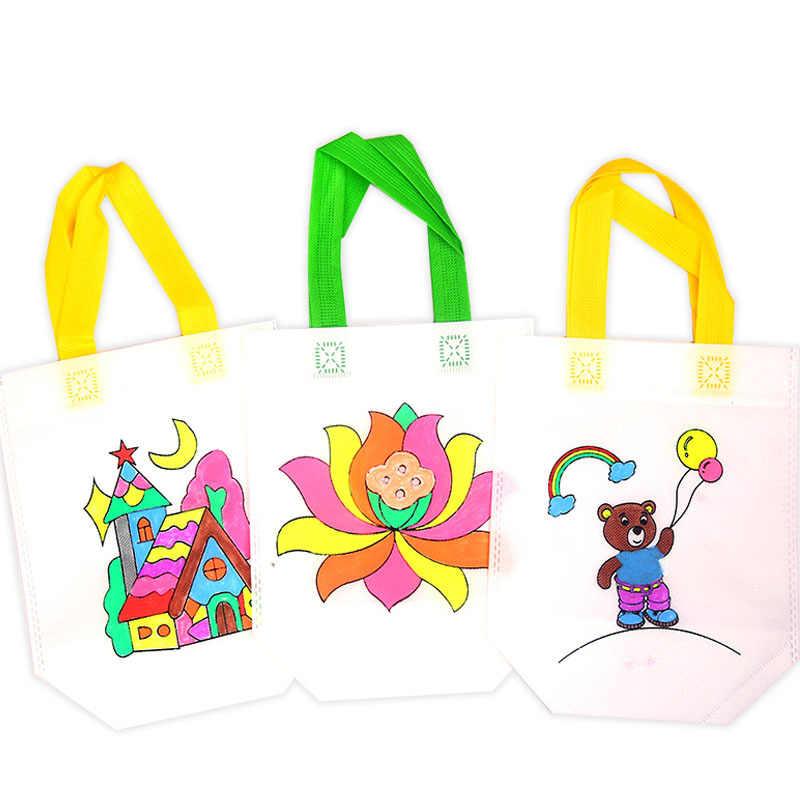 Juguetes Educativos de dibujo para niños con bolígrafo de agua seguro no tóxico nuevos regalos de bolsa de Color con dibujo artesanal DIY para niños y niñas