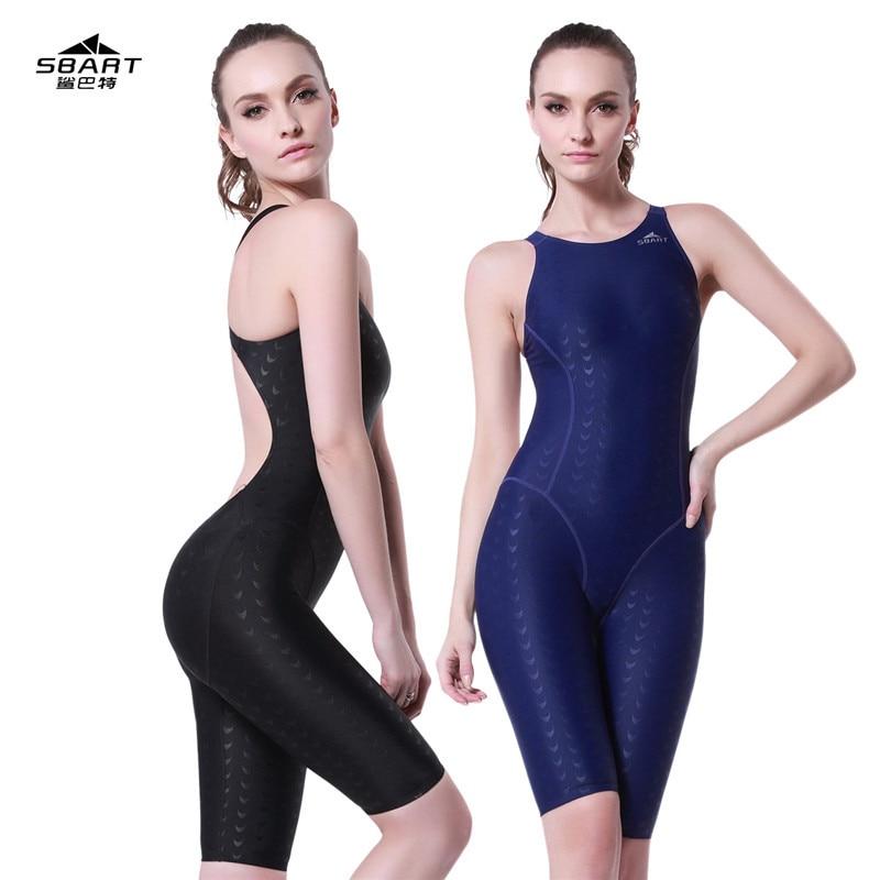 Profesionální ženy plavky jednodílné plavky sportovní závodní tréninkové punčocháče dámská kulturistika žraločí kůže žraločí plavky