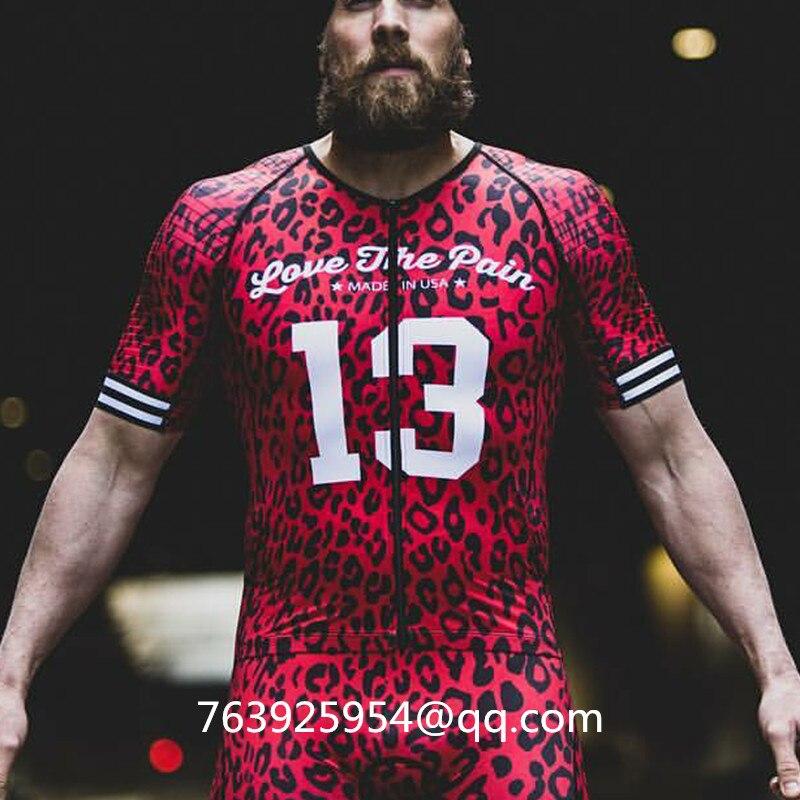 2019 amour la douleur hommes corps triathlon personnalisé KissBike Pro équipe skinsuit vtt ciclismo haute qualité vêtements rock vélo maillot