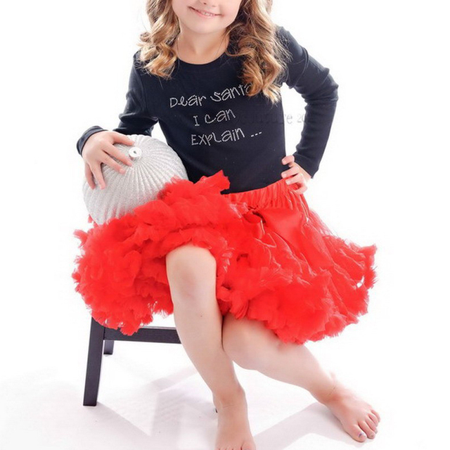 Free Shipping 2015 Hot Sale High Quality Girls TuTu Children Girl Christmas Fluffy Pettiskirts girls tutu skirt