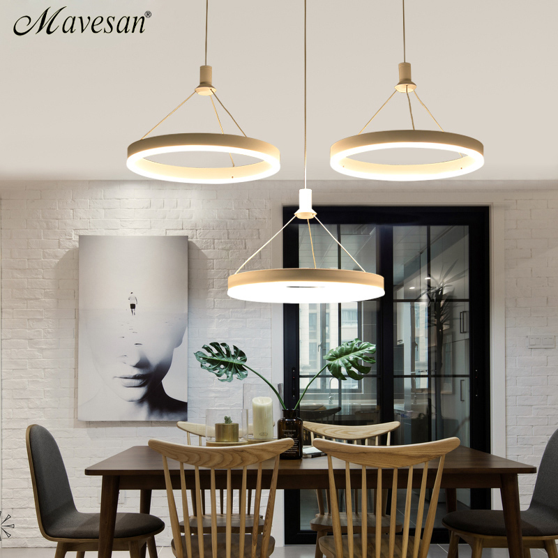 pendant lights dining room lamp modern light fixtures abajur lighting Square and round base lustre Hanging Ceiling Fixtures