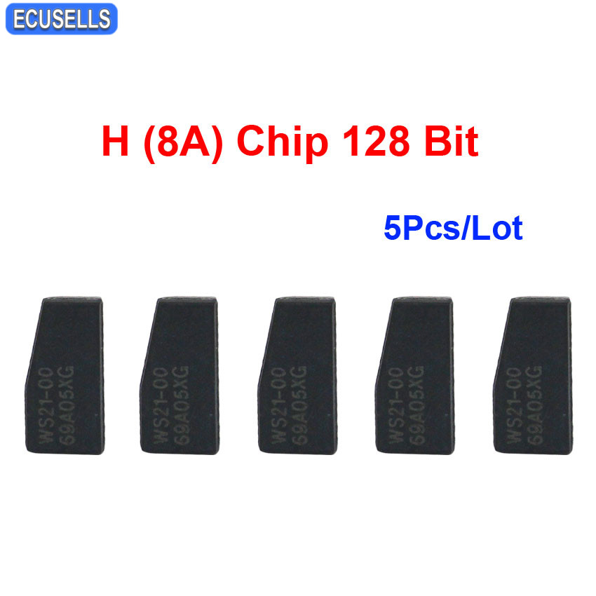 H Chip Transponder Key For Toyota Sequoia 2015 2019: 5 Pcs/Lot Car Key Chip Key Blank New Transponder H (8A