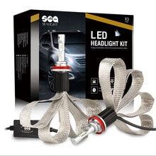 New Design H4 H7 H8 H9 H11 H1 9005 9006 LED Headlight 60W 12000LM LED Car Bulbs Car-styling For Toyota Honda Nissan BMW Mazda