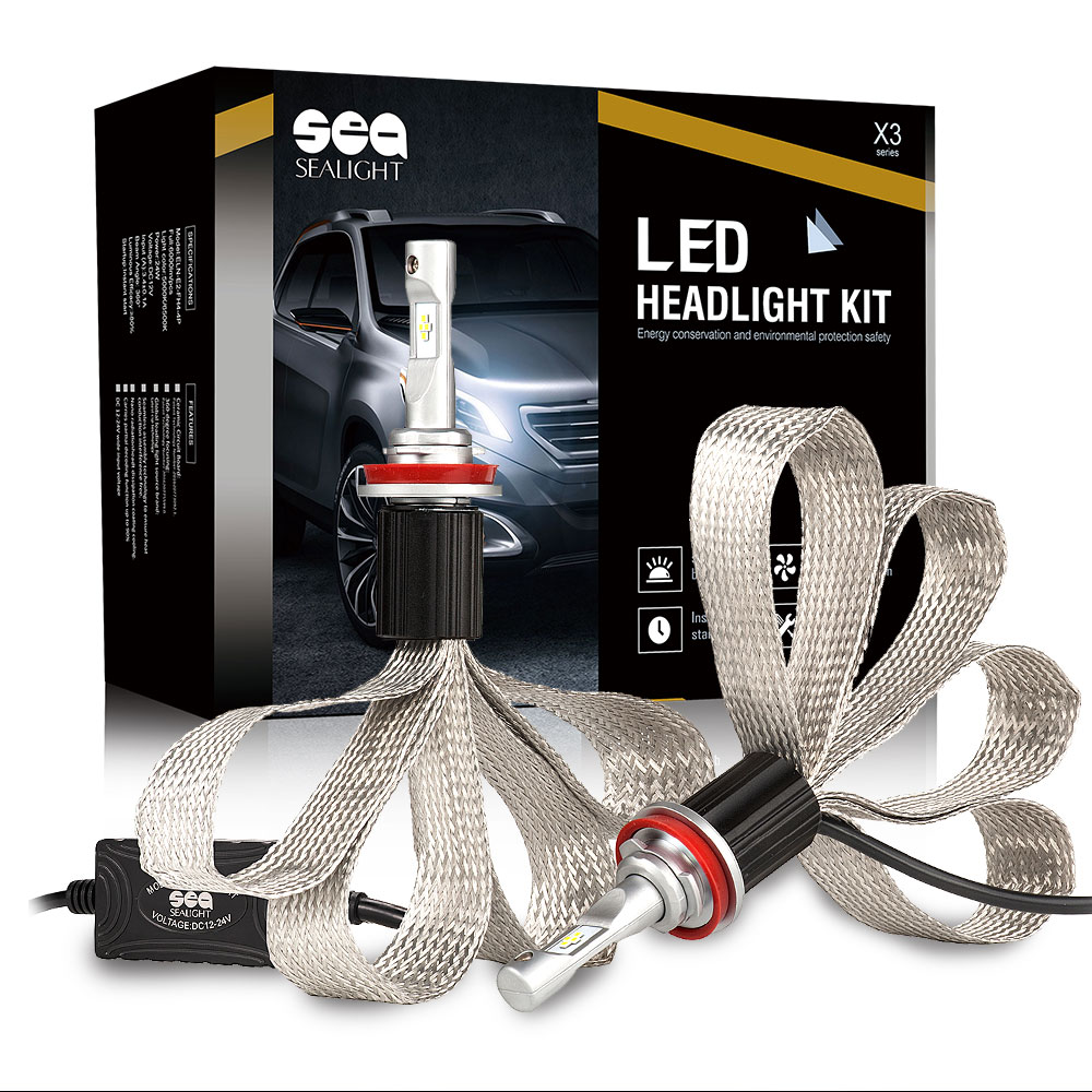 car-styling Auto Car H4 H7 led bulb H8 H9 H11 H1 9005 9006 LED Headlight 60W 12000LM LED Bulbs For Toyota Honda Nissan BMW Mazda