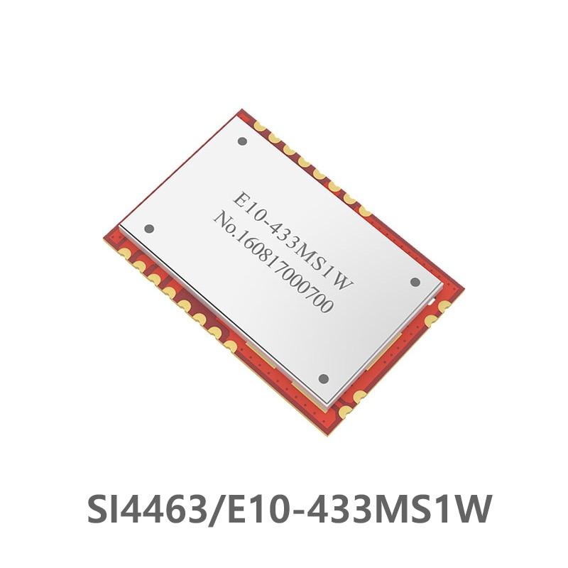 E10-433MS1W SI4463 TCXO 433Mhz 1W Wireless Module SPI ebyte 433M SMD Transceiver for Data Communication Stamp hole Antenna