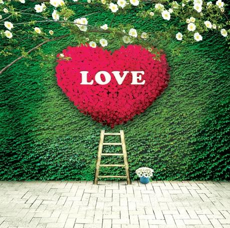 Customize love photography backdrops wood flooring 5x8ft  vinyl cloth for photo studio portrait background S-439 8x10ft valentine s day photography pink love heart shape adult portrait backdrop d 7324