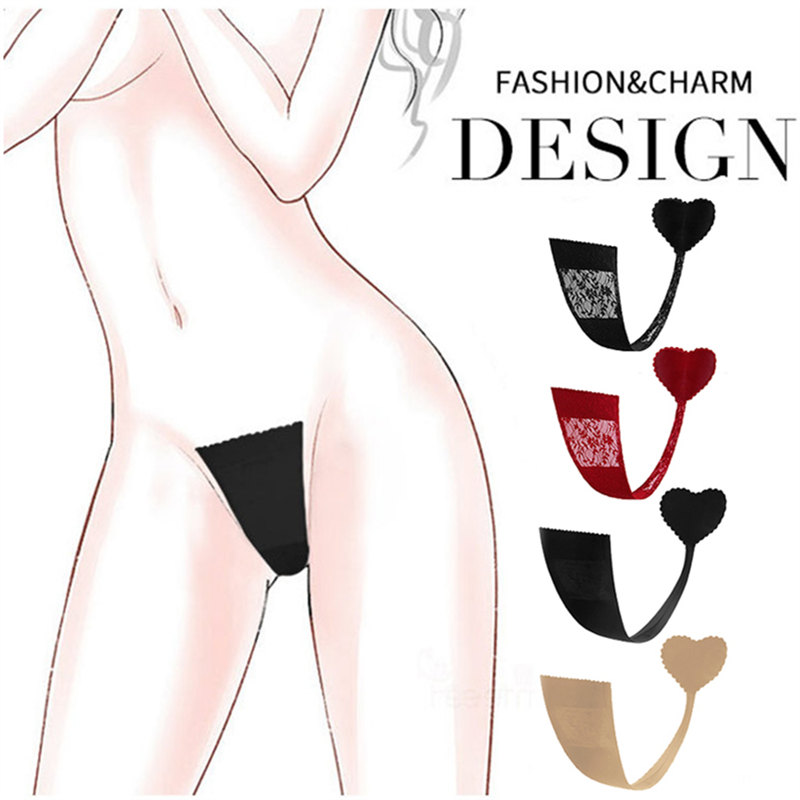 1-5 pcs Fashion Design Multiple Use Women Sexy   Panties   Lady Models C String Lines Adhesive Strapless Underwear Thongs Intimates