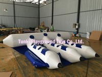 Hot selling water sport inflatable fly fish boat / water flyfish