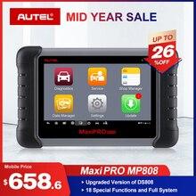 Autel MaxiPro MP808 Diagnostic Tool PK DS808 DS708 Maxisys MS906 Automotive Scanner Reset Service Key Coding OBD OBD2 Scanner