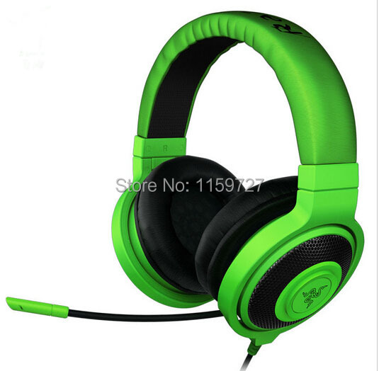 Kraken Gaming Headset, Original & Brand New in BOX, Fast& Free shipping, In stock Analog Gaming Headset free shipping free shipping xc3020 70pg84m new original and goods in stock