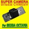 Para Sony CCD Back Up Parking Del Revés Del Coche SKODA OCTAVIA Retrovisor Sensor de visión nocturna de la Cámara de Color para la Navegación Autoradio GPS