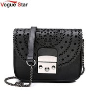 Famous Brands Bag Vintage Hollow Out Women Crossbody Bags For Women Clutches Mini Small Women Bag