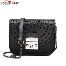 Famous Brands bag vintage hollow out Women Crossbody bags For Women Clutches mini small women bag Lady Chain Shoulder bag LB191