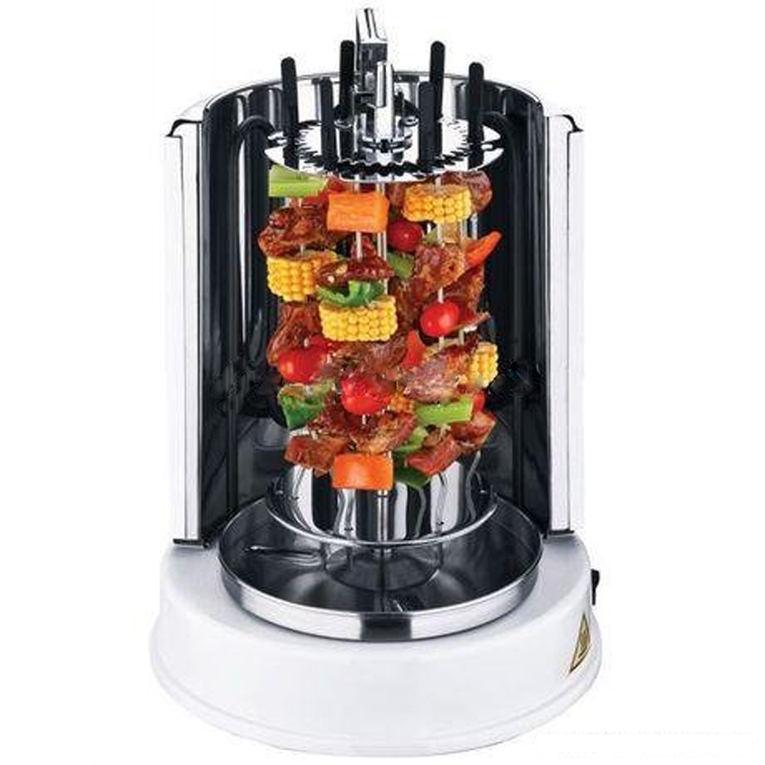 1PC Burn oven home electric automatic rotation roast chicken BBQ Grill Automatic Electric rotisserie цена и фото