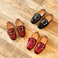 Party girls shoes baby дети дети платье девушка принцесса кожаные обуви весна осень для 3 ~ 7 год мода 2017 размер 26 ~ 30 KK024