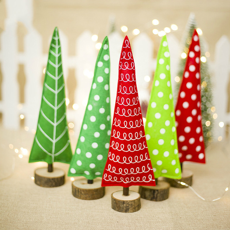 aliexpresscom buy creative fabric christmas tree decoration ornaments christmas childrens gifts christmas home table decoration from reliable pendant