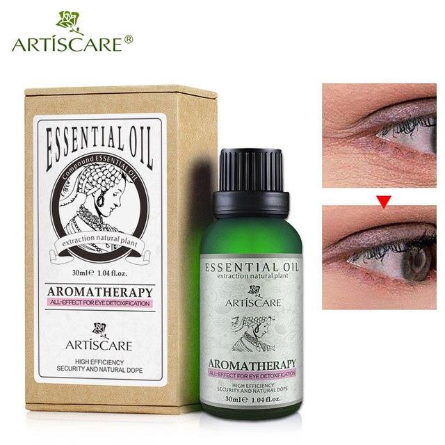 ARTISCARE красота глаз эфирное масло темных кругов под глазами уход за кожей лица против морщин, уход за кожей масла против старения глаза массажное масло
