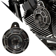 For Harley Horn Motorcycle Speaker Moto Slot Loud 91-up Big Twin Cam Sportster XL 07-up