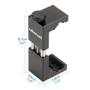 Image 4 - Универсальный штатив Ulanzi для смартфона, металлическая алюминиевая подставка держатель для телефона, для iPhone 11 Pro Max