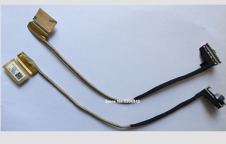 WZSM Wholesale Brand New LCD Flex Video Cable for Sony Vaio SVS13 SVS131 SVS13A V120 laptop cable P/N  364-0211-1104_A wzsm wholesale new lcd flex video cable for hp probook 4540s 4570s 4730s 4740s laptop cable p n 50 4ry03 001