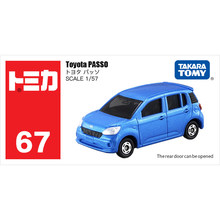 Takara Tomy Tomica 1/57 TOYOTA PASSO Metall Diecast Modell Spielzeug Auto Neue in Box #67(China)