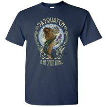 Sasquatch Spirit Animal T-Shirt Funny Bigfoot Hippie Art Deadhead Party New Age(China)
