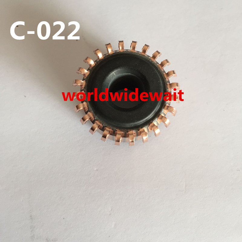 24 Tooth Copper Shell Mounted On Armature Commutator 9mm X 23mm X 13.5mm C-022
