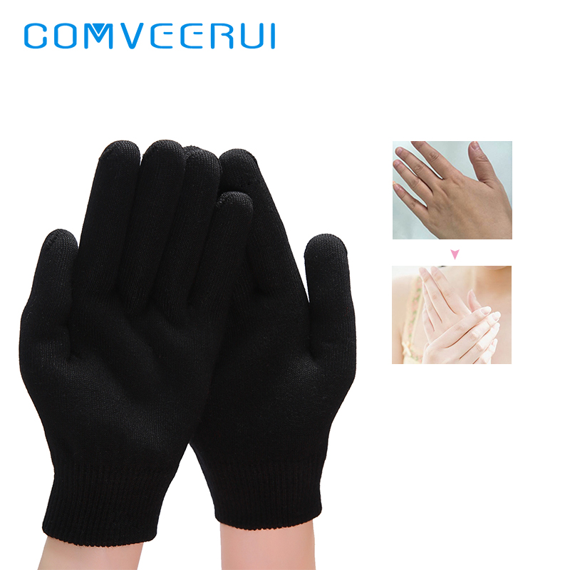 Gel Spa Gloves Whitening Moisturizing Treatment Hand Mask Care Repair Hand Skin Beauty Washable Reusable Ageless VE Hand Care LF