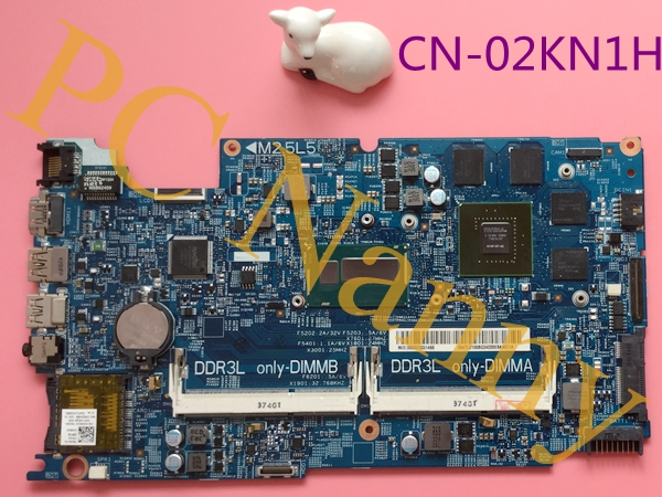 CN-02KN1H 2KN1H For DELL Inspiron 15 7537 Laptop Motherboard Intel i7-4500U DDR3 NVIDIA Gefore GT750M Mainboard Mother Boards cn 0md666 laptop motherboard for dell inspiron 6400 e1505 da0fm1mb6f5 rev f 945gm ddr2 mainboard mother boards