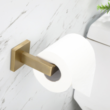 Brushed Gold 304 Stainless Steel Bathroom Hardware Set Accessories Toilet Paper Oil Rubbed Bronze Holder