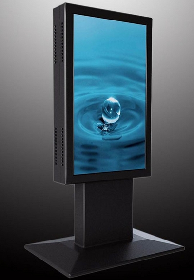 High Brightness Stand Alone 65 Inch High Brightness 1500 Nits Commercial LCD AD Screen Digital All In One