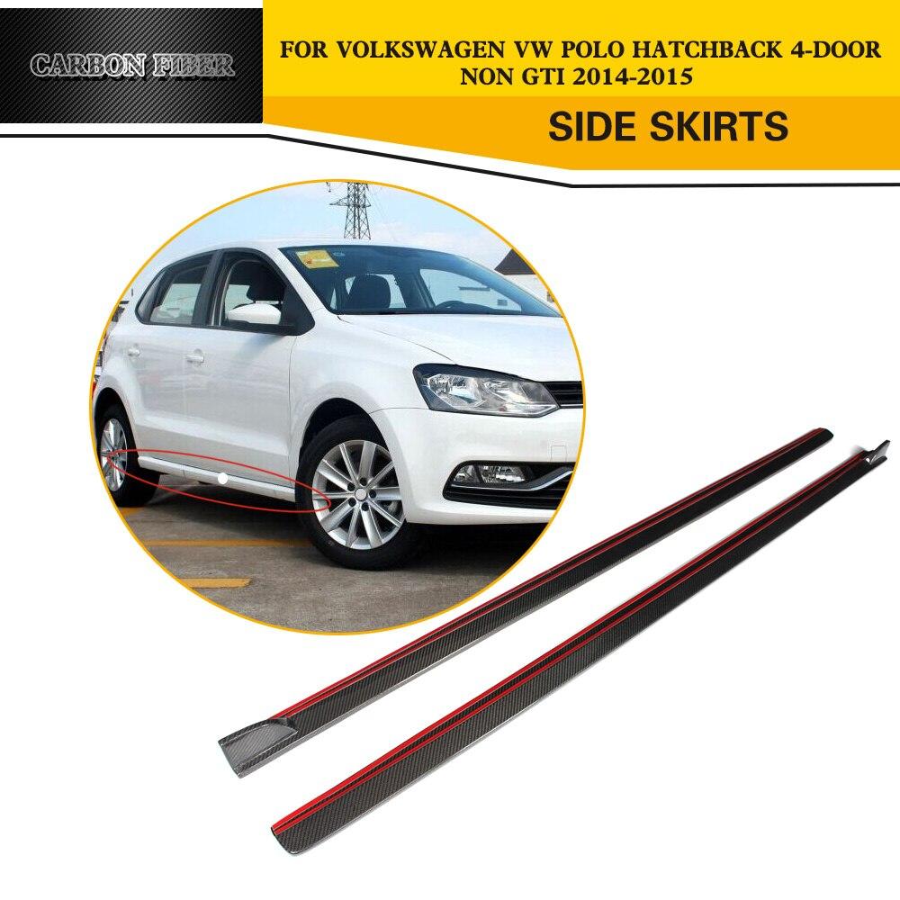 Buy Volkswagen: Aliexpress.com : Buy Carbon Fiber Auto Side Body Skirts