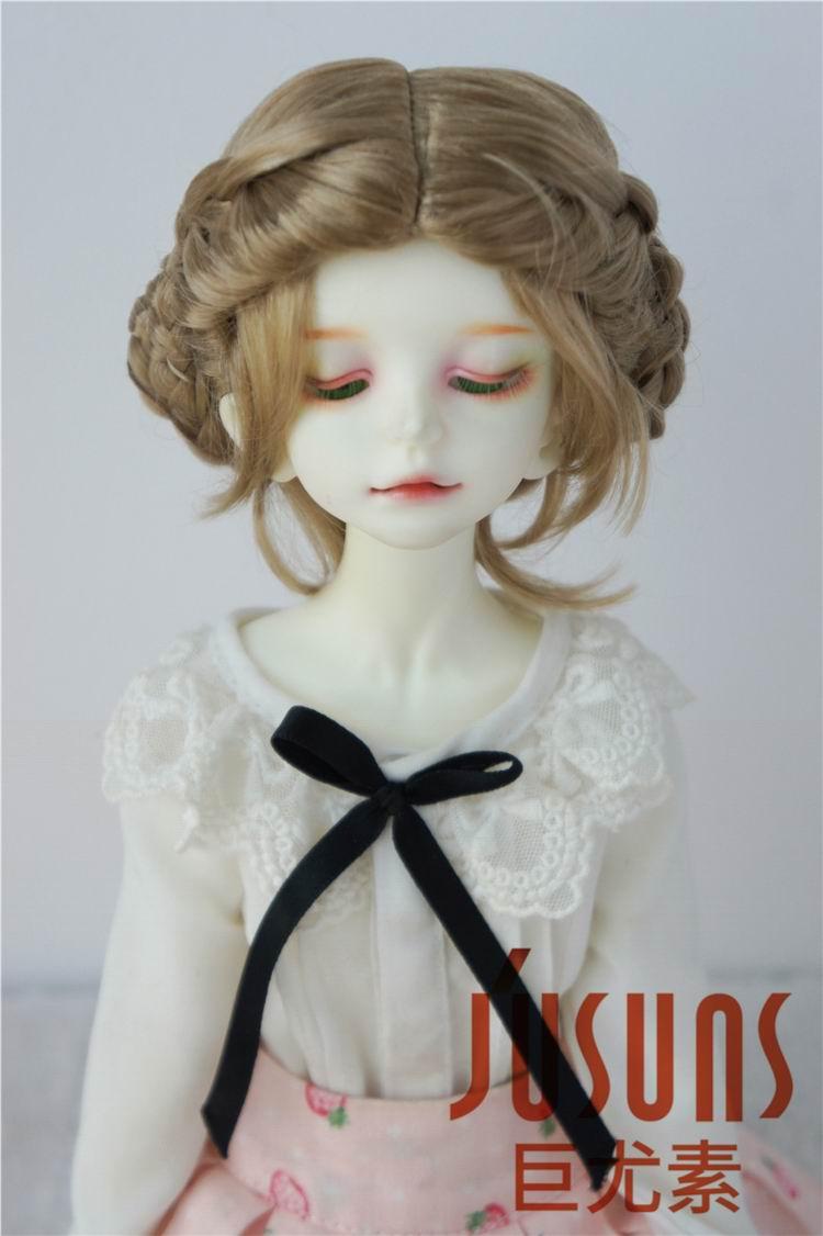 JD177 1/4 Ballet synthetic mohair wig MSD BJD doll wig 7-8 inch Vinyl doll play doll wigs 7 8 bjd doll wig super cute imitation mohair wig accessories 1 4 bjd msd
