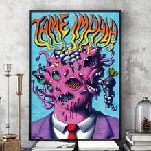 Tame Impala психоделическая Рок Музыкальная Группа Тур плакат и принты искусство холст живопись настенные картины для гостиной домашний декор
