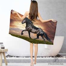 На заказ horse_running(1) тряпка для ванной комнаты полотенце s полотенце для лица/банное полотенце для душа s Размер 33x74 см/72x143 см#18-12-17-06-257