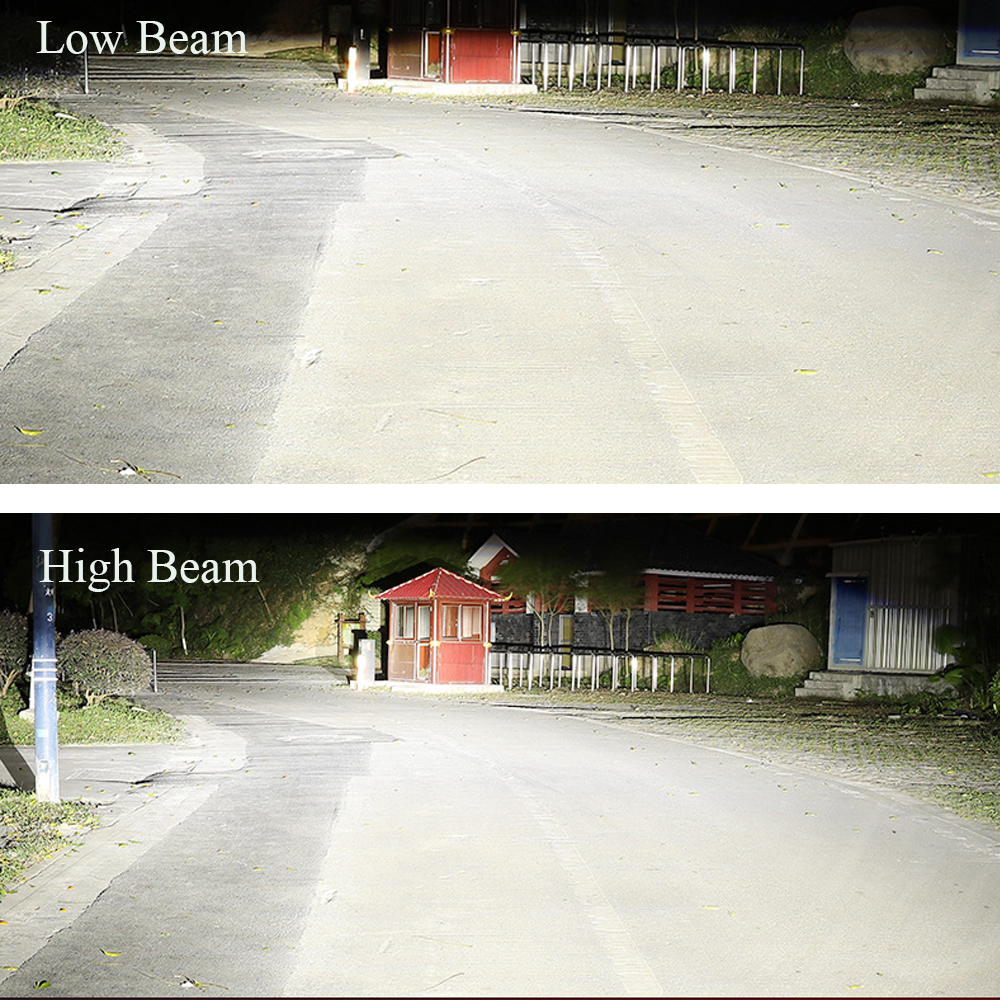 Image 5 - Castaleca Car Headlight LED H7 H4 LED H1 H11 H3 H13 9005 9006 9007 Auto Headlamp Canbus COB Car Lights Bulbs 72W 8000LM-in Car Headlight Bulbs(LED) from Automobiles & Motorcycles