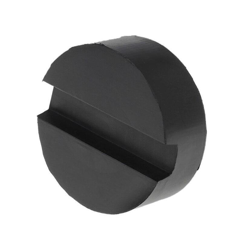 Image 2 - Черный резиновый прорези Пол Джек колодка рамки Rail адаптер для щепотку сварки сторона Pad