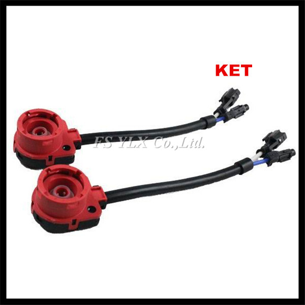 D2 KET AMP HID xenon Wiring Harness Socket Adapter car D2S D2R D2C HID headlight fog light AMP Converter Plug Cable Connector h8 h11 female adapter wiring harness socket car auto wire connector cable plug for hid led headlight fog light lamp bulb