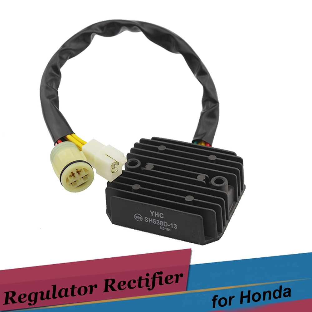 7 Wires 12v Motorcycle Regulator Rectifier For Honda Xrv 750 P Y Wiring Africa Twin 19932003 2 Plug Motor Voltage Rectifiers Sh538d 13 In Motorbike Ingition From