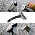 Mini Handheld Aço Inoxidável Pá de Neve Gelo Raspador Ferramenta de Limpeza para o Carro Auto Janela Do Carro Veículo