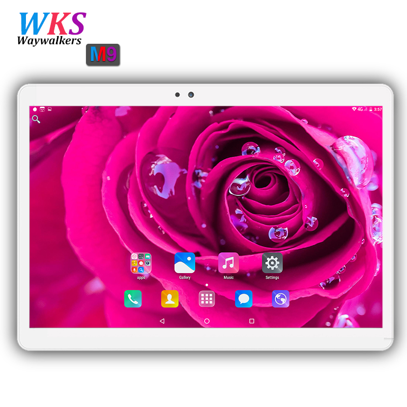 все цены на Newest waywalkers 3G/4G LTE 10.1 inch tablet pc Android 7.0 octa core 4GB RAM 64GB ROM Tablets phone computer 1920*1200 MT8752 онлайн