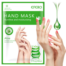 Moisturizing Hand Masks Aloe Extract Super Smoothing Whitening Spa Han