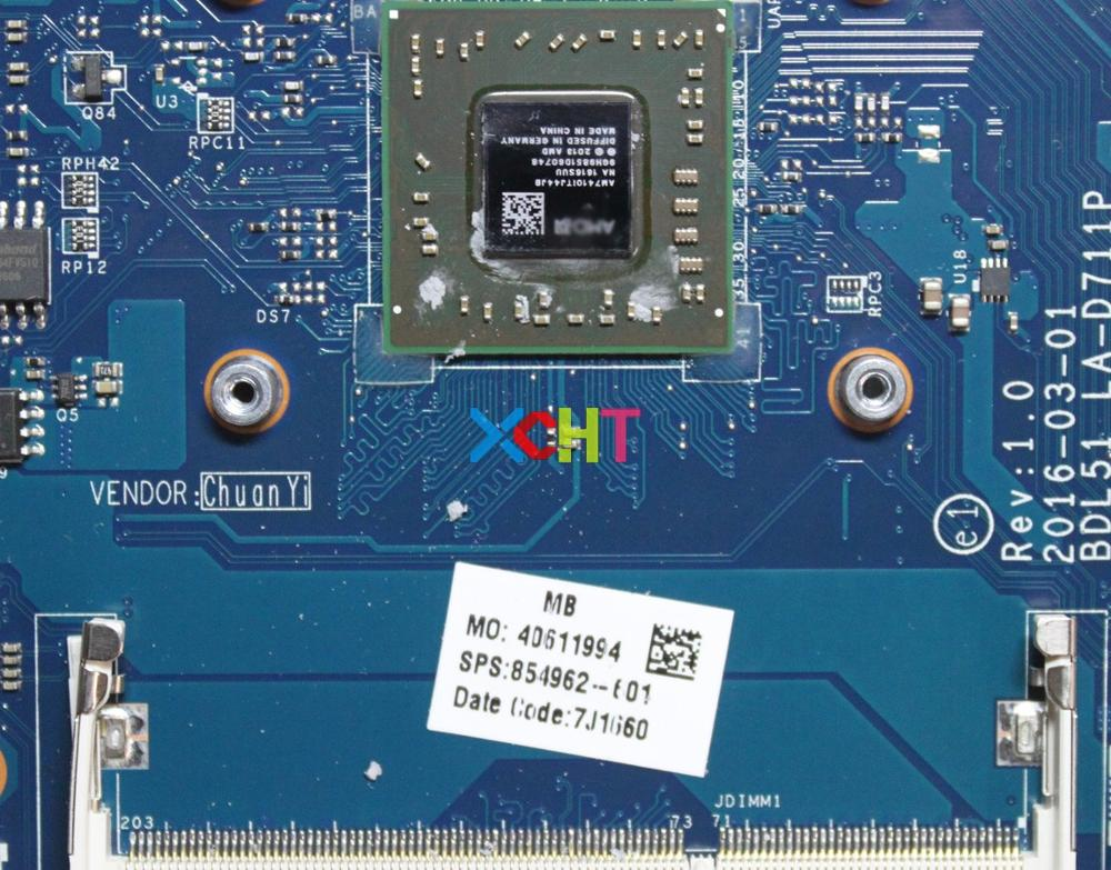 Image 3 - for HP 15 B Series 854962 601 854962 501 854962 001 BDL51 LA D711P REV:1.0 UMA A8 7410 Laptop Motherboard Mainboard Tested-in Laptop Motherboard from Computer & Office