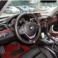 Carro-Styling /// M De Fibra De Carbono de Couro PU Cobertura de Volante Para BMW X1 X2 X3 X4 X5 X6 M1 M2 M3 M4 M5 M6 M7 série