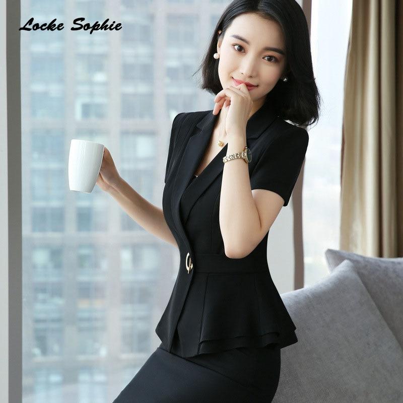 1pcs Women's Blazers Coats 2019 Summer Fashion Cotton Blend Splicing Small Suits Jackets Ladies Skinny Blazers Suits Coats Girls
