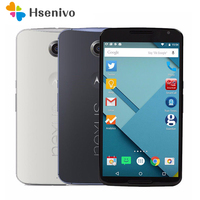 Original Unlocked Motorola Nexus 6 XT1103 XT1100 Mobile Phone 5.96 Touch Screen 3GB RAM 32GB ROM 4G GPS WIFI refurbished