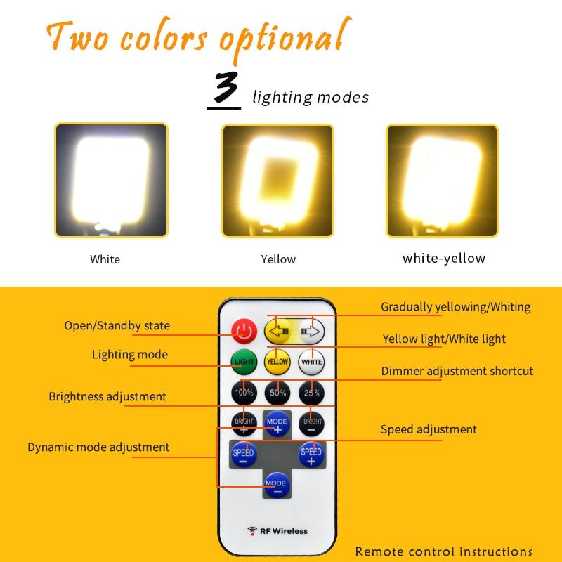 Emissor de Luz de Trabalho Recarregável Portátil Holofotes Cob Holofote